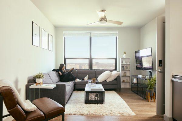 Verve New Jersey living room