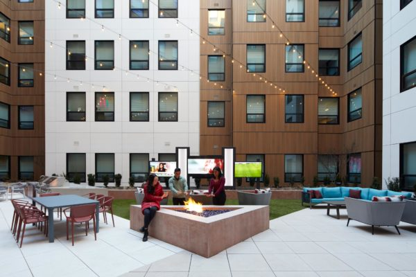 Verve New Jersey outdoor lounge